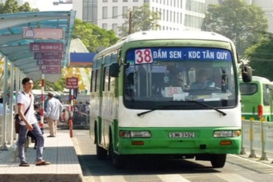 Xe buýt tại TPHCM. Ảnh: Internet.