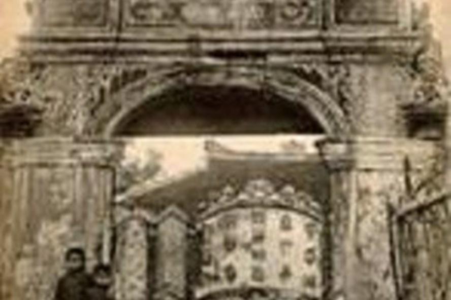 Cổng vào Khâm thiên giám (nguồn: sưu tầm)
