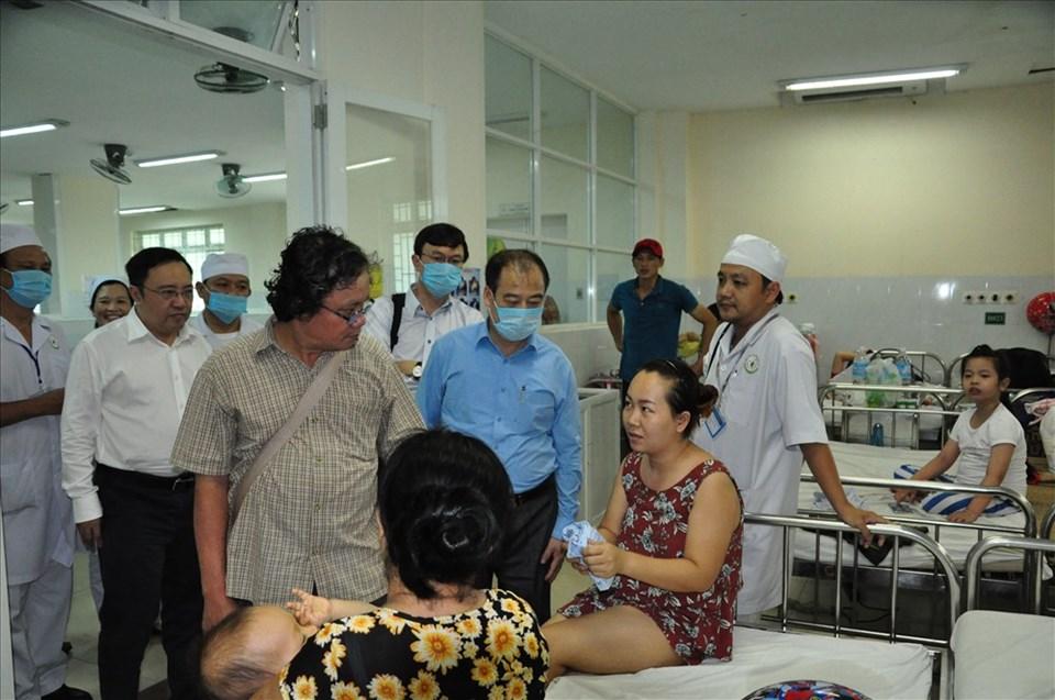 Kiểm tra bệnh sởi tại bệnh viện nhi Đồng Nai