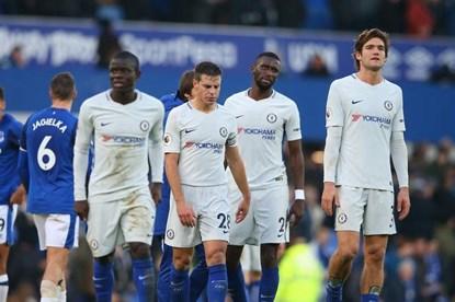 Hàng công bế tắc, Chelsea để Everton cầm hòa 0 - 0