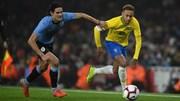 Brazil thắng chật vật Uruguay 1 - 0