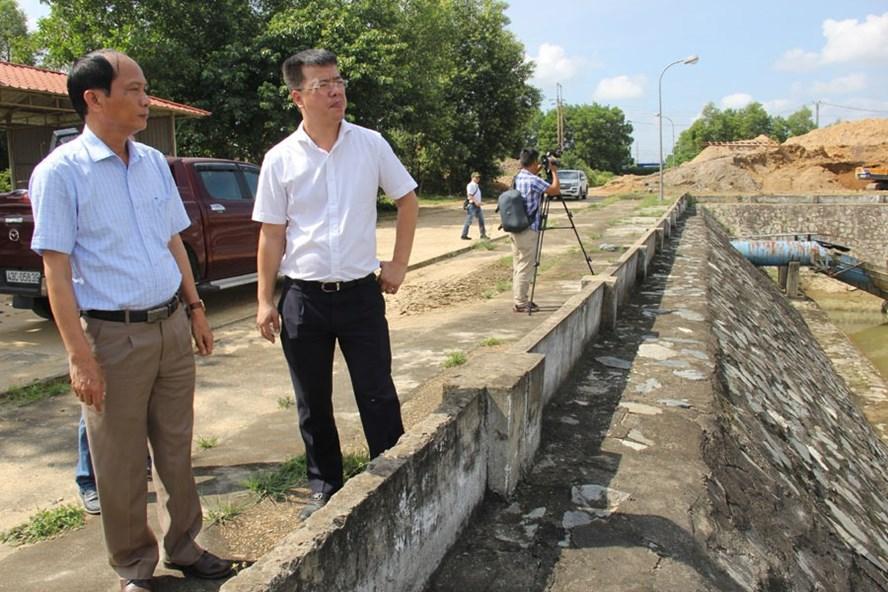 Cục Quản lý Tài nguyên nước kiểm tra thực tế tại các nhà máy nước trên địa bàn TP.Đà Nẵng. Ảnh: T.T