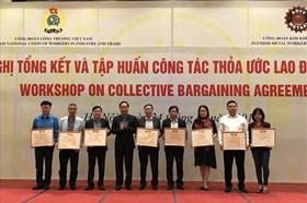 Công đoàn Công thương Việt Nam tập huấn công tác thoả ước lao động tập thể