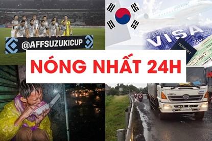 Tình người trong bão số 9 Usagi; Tay săn bàn gốc Đức của Philippines quyết hạ ĐT Việt Nam được tìm đọc nhiều nhất ngày