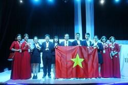 Học sinh Việt Nam giành 4 huy chương vàng tại cuộc thi Khoa học trẻ