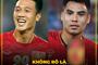Loạt ảnh chế cầu thủ tuyển Việt Nam bị phía Malaysia phạm lỗi thô bạo
