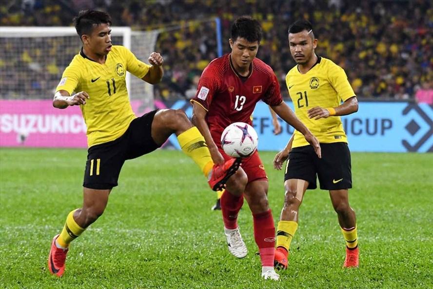 Tuyển Việt Nam bỏ lỡ quá nhiều cơ hội trong trận đấu với Malaysia. Ảnh AFF