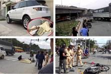 Tin tức giao thông 24h: Khoảnh khắc nữ sinh bị Range Rover đâm
