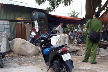 Khu vực nam thanh niên tử vong trong lúc sửa điện giúp người dân.