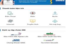 Vi vu cùng 36 hãng hàng không qua App Ngân hàng MBBank