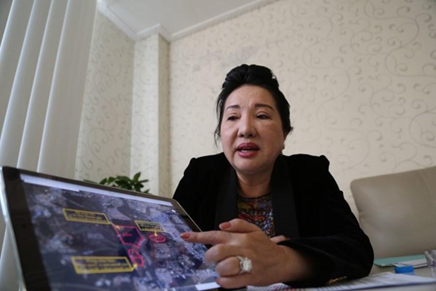 Bà Nguyễn Thị Như Loan, Chủ tịch HĐQT Quốc Cường Gia Lai. Ảnh: Trương Khởi.
