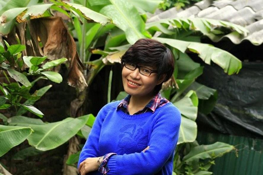 Nhà báo Nguyễn Thu Trang.
