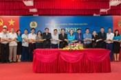 Khối thi đua CĐCS trực thuộc LĐLĐ tỉnh Thái Nguyên tổng kết hoạt động