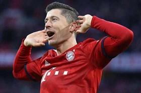 Lewandowski lập cú đúp, Bayern đại thắng Nurnberg 3 - 0