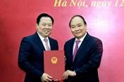Ông Nguyễn Hoàng Anh làm Chủ tịch Ủy ban Quản lý vốn Nhà nước tại doanh nghiệp