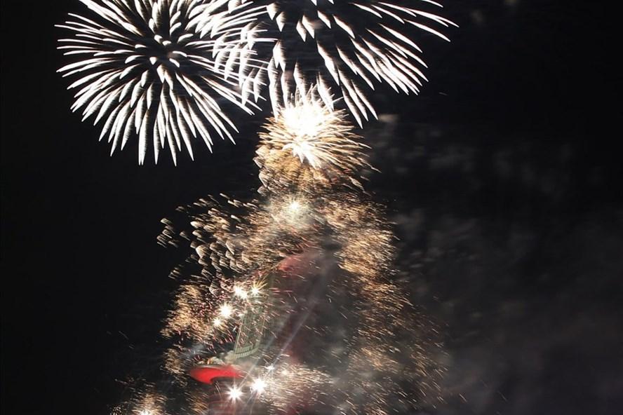 Bắn pháo hoa tại TPHCM