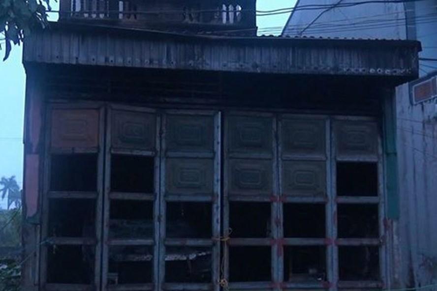 Hiện trường vụ cháy làm 1 người tử vong tại Thái Bình trong ngày mùng 1 Tết