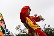 Nhìn lại những hình ảnh ấn tượng trong lễ hội rước pháo đầu xuân làng Đồng Kỵ