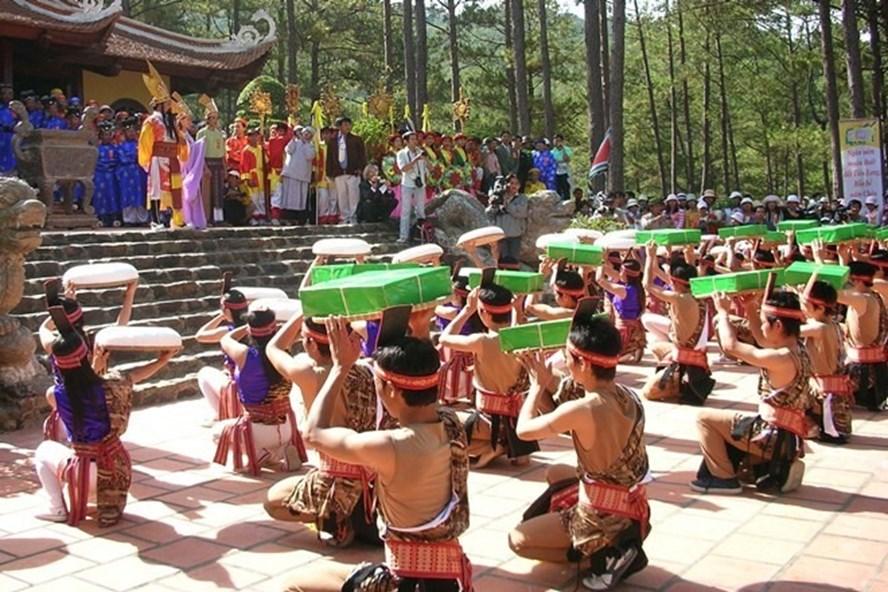 Vật phẩm dâng cúng tại lễ hội Đền Hùng (ảnh minh họa)