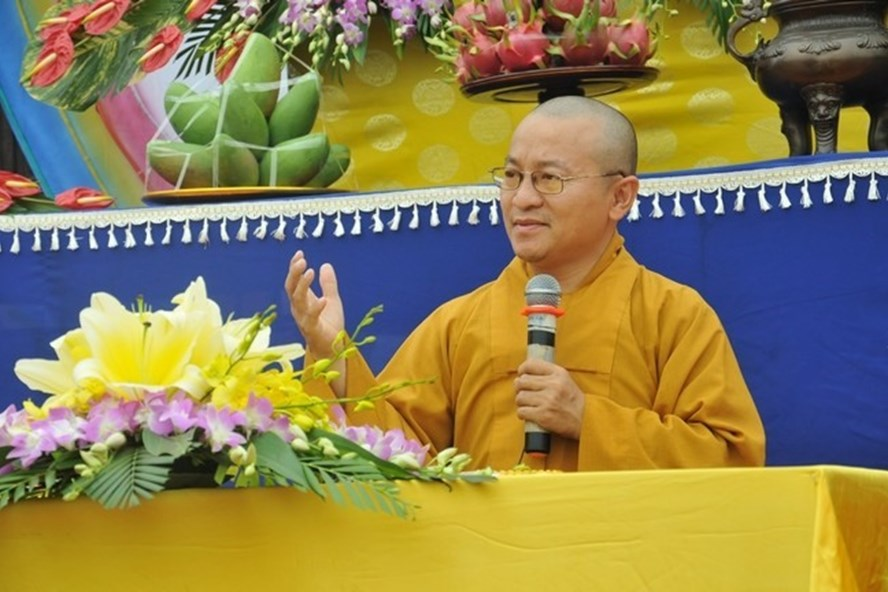 Thượng tọa Thích Nhật Từ - Phó Trưởng ban Phật giáo Quốc tế - Giáo hội Phật giáo Việt Nam.