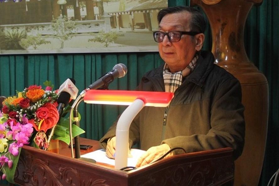 PGS.TS Trần Lâm Biền. Ảnh: Trần Vương