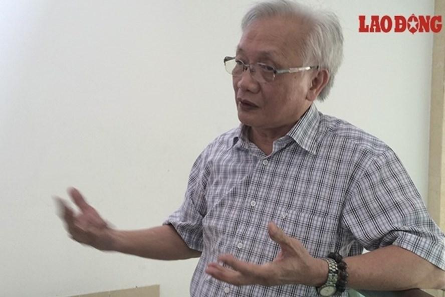 TS Nguyễn Tùng Lâm không ủng hộ việc các trường áp dụng hình thức kỷ luật đuổi học với học sinh.