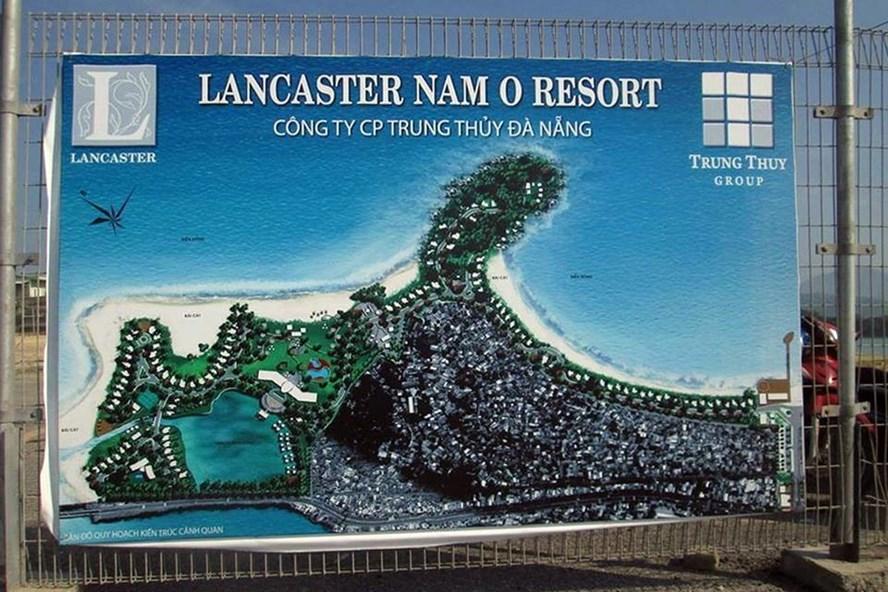Dự án Lancaster Nam O Resort của Cty CP Trung Thủy hiển hiện rõ thực trạng vây ráp 2 làng biển Nam Ô, Xuân Sơn.