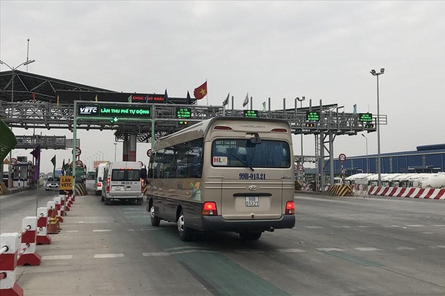 Trạm BOT Hà Nội - Bắc Giang. Ảnh: K.H