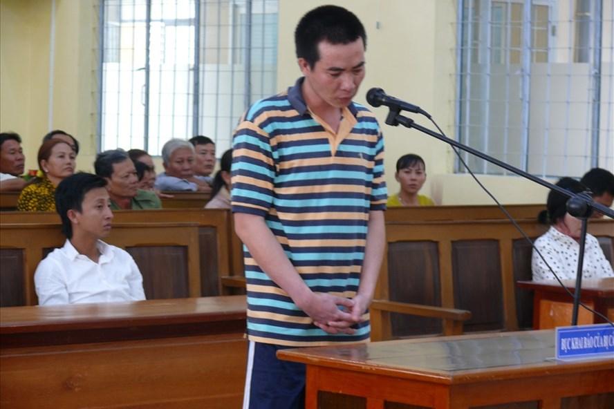 Bị cáo Út tại tòa