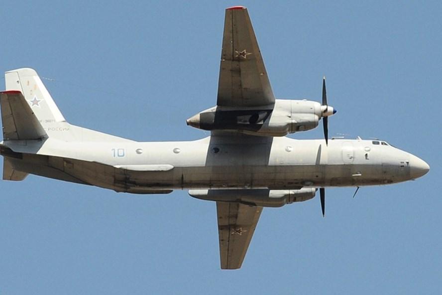 Máy bay vận tải quân sự của Nga bị rơi ở Syria. Ảnh: RT