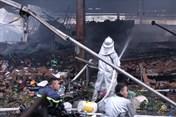 Cháy ở chợ Quang (Hà Nội): Cảnh sát phòng cháy chữa cháy đến chậm cả tiếng?