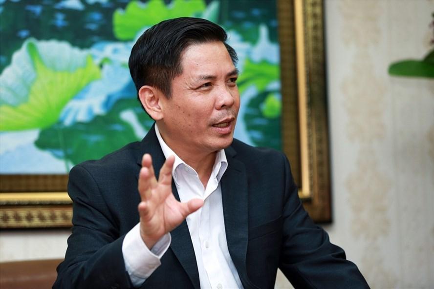 Bộ trưởng Bộ GTVT Nguyễn Văn Thể. Ảnh: HẢI NGUYỄN