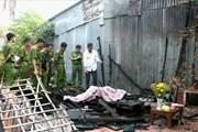An Giang: Cháy nhà làm chết một người