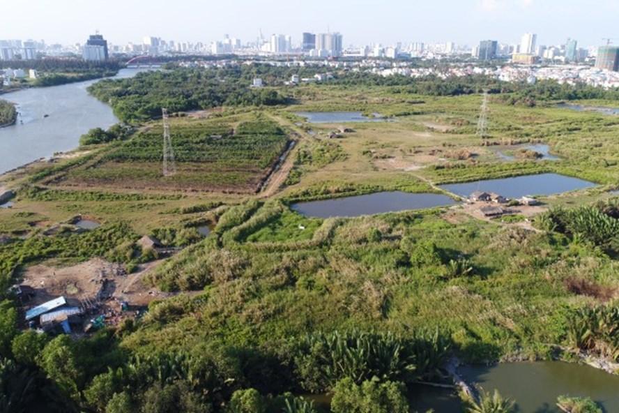 """Đại gia Cường """"đô la"""" cho rằng khu đất mà QCGL mua của Cty Tân Thuận không phải là đất công."""