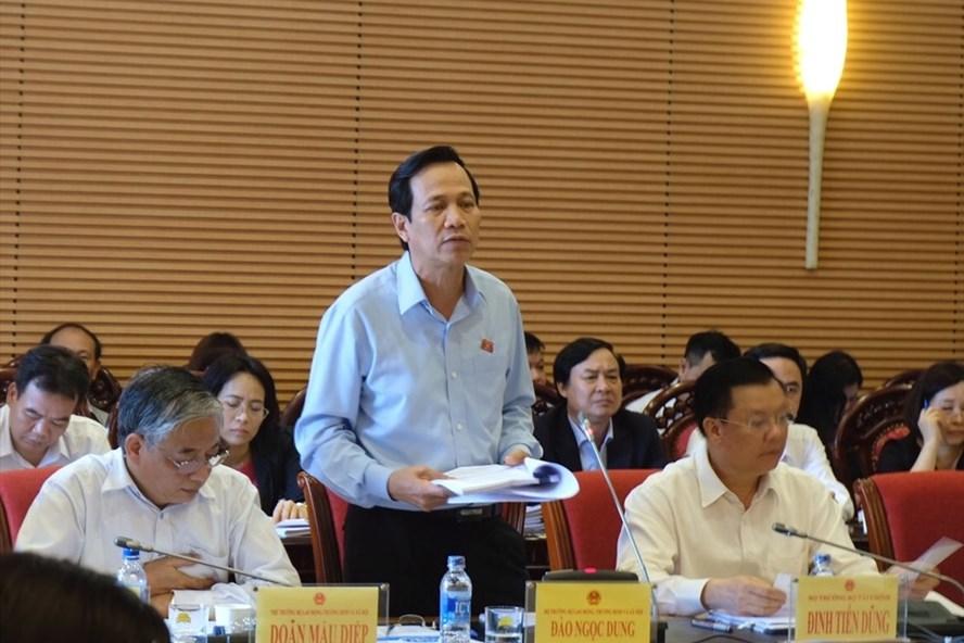 Bộ trưởng Đào Ngọc Dung cho biết hội nghị trung ương 7 sẽ quyết định các nội dung cải cách lĩnh vực bảo hiểm xã hội.