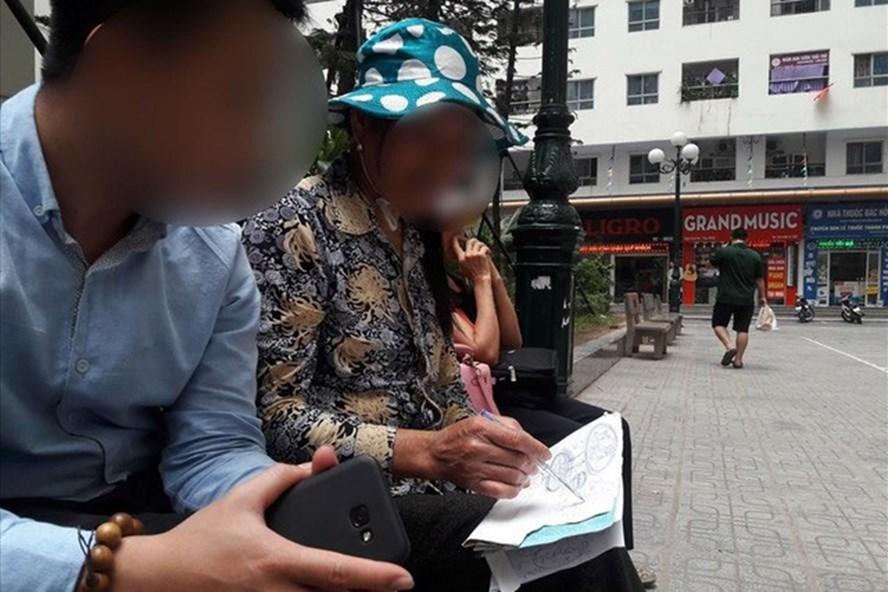 Tín đồ Hội Thánh Đức Chúa Trời xuất hiện ở Hà Nội. Ảnh: TV