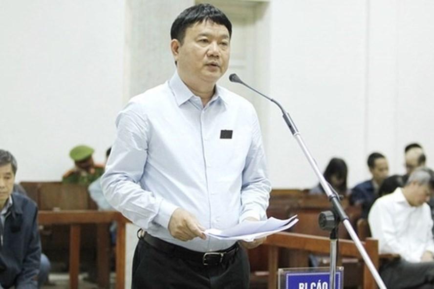 Bị cáo Đinh La Thăng.