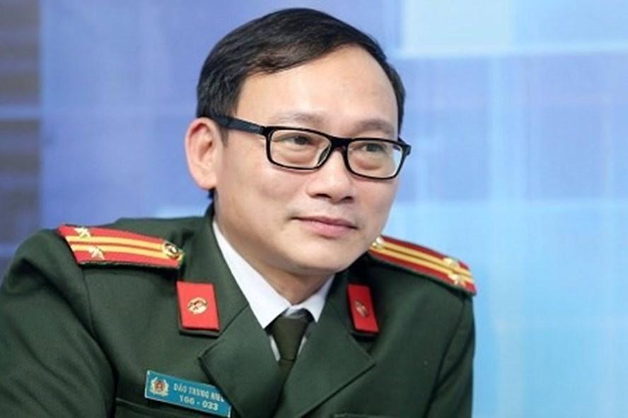 Trung tá Đào Trung Hiếu.