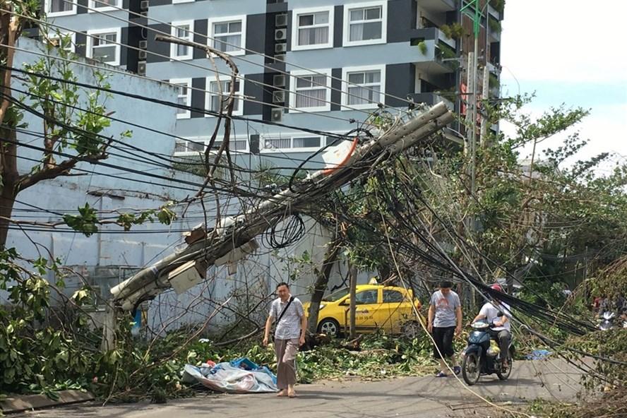 Bão số 12 gây hậu quả nặng nề tại Khánh Hòa. (Ảnh minh họa)