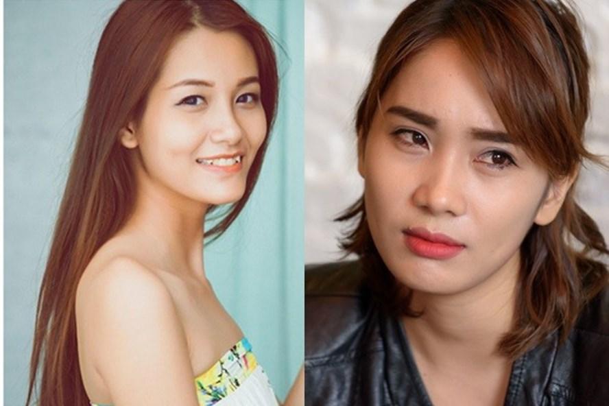 Kim Phượng (trái) và Phạm Lịch.