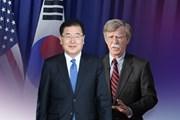 Trợ thủ đắc lực về an ninh quốc gia của ông Moon Jae-in bí mật thăm Mỹ
