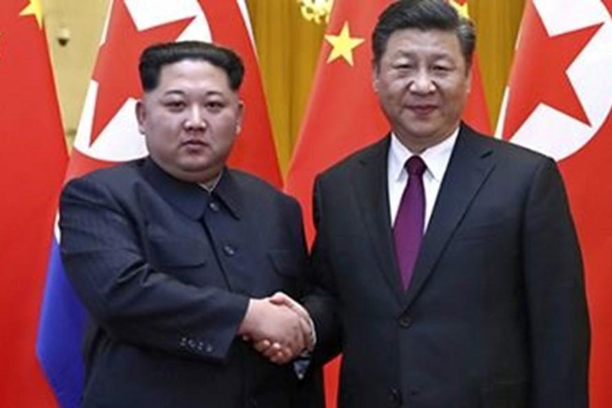 Truyền thông Hàn Quốc đưa tin, ông Kim Jong-un có khả năng đang ở thăm Trung Quốc. Ảnh: KT.
