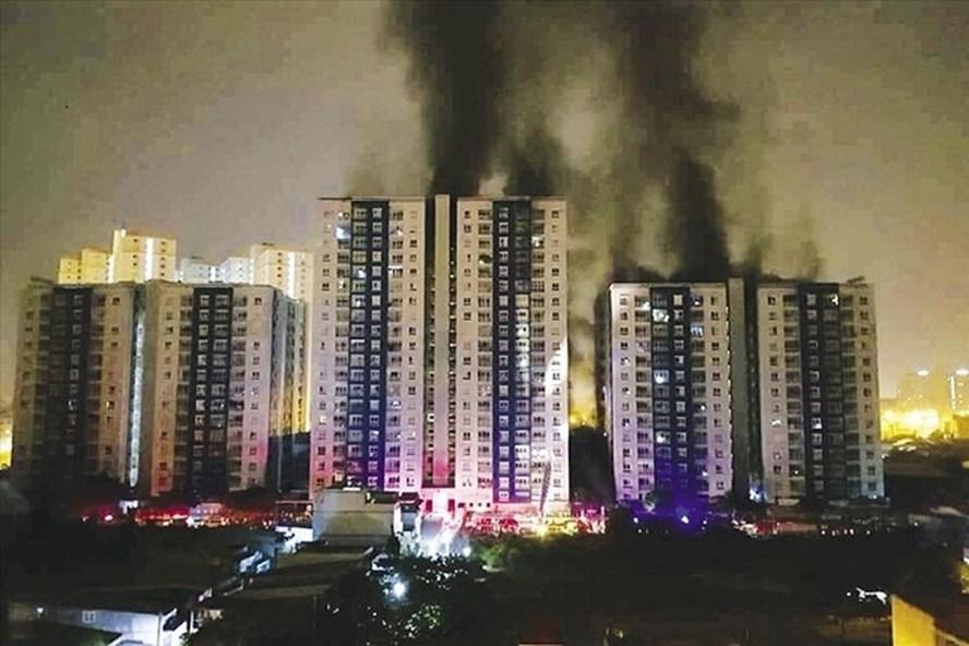 Sau vụ cháy chung cư Carina, hiện TP.HCM vẫn còn 7 chung cư chưa có hệ thống PCCC. Ảnh: PV