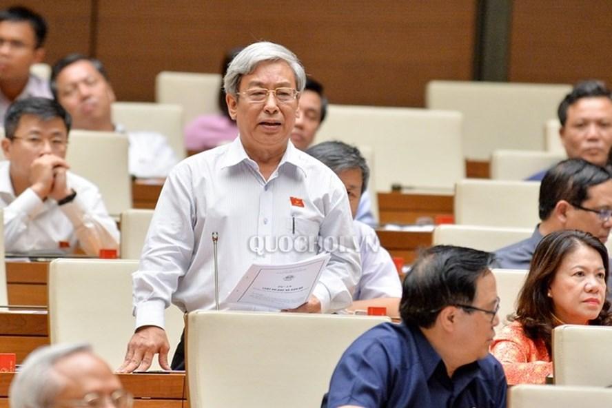 Đại biểu Lê Xuân Thân (Khánh Hòa) - Ảnh: QH
