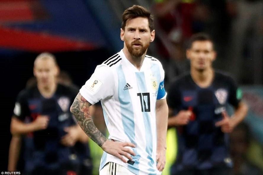 Messi và nỗi buồn theo chất lượng. Ảnh: Dailymail