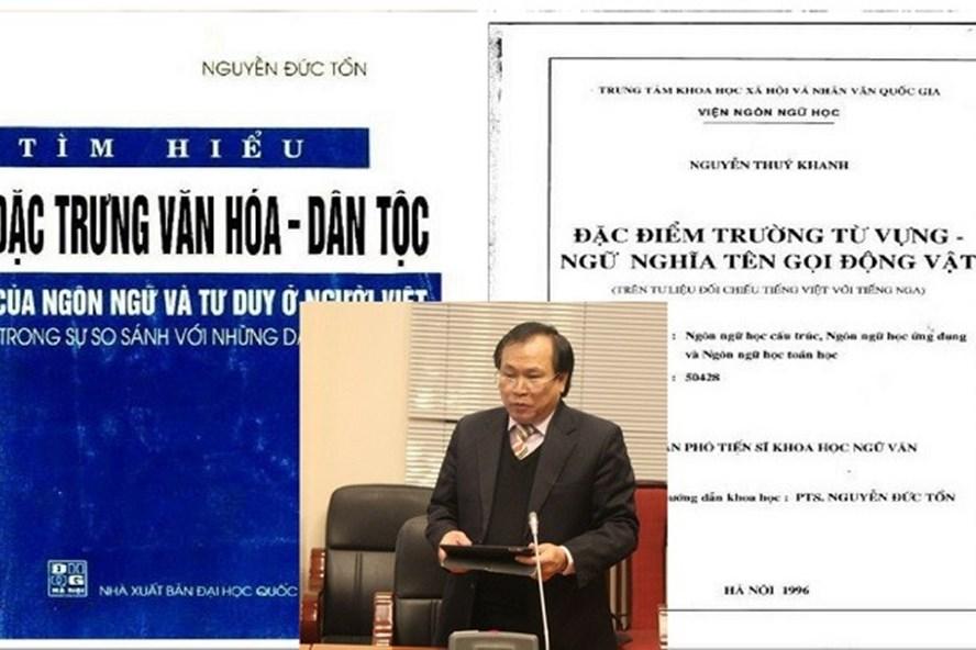 """Nghi án """"đạo văn"""" của ông Nguyễn Đức Tồn đã kéo dài 10 năm, chẳng lẽ sẽ tiếp tục """"chìm xuồng""""?"""