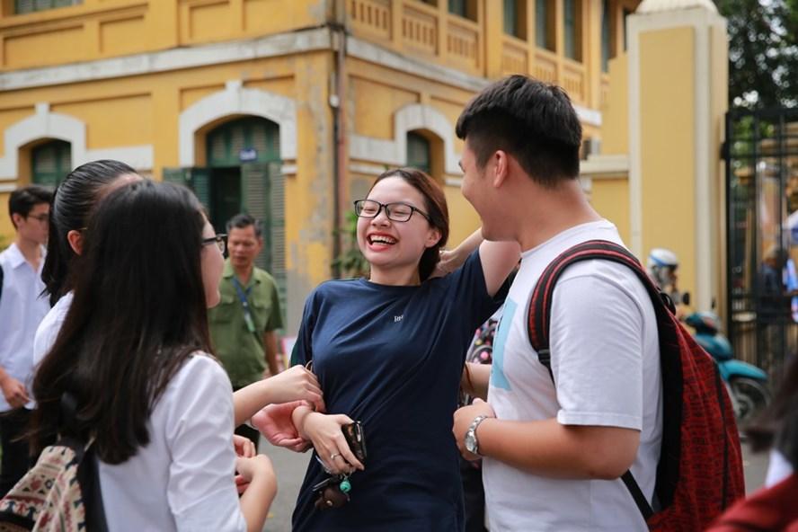 Thí sinh tham dự kỳ thi THPT quốc gia 2018. Ảnh: Hải Nguyễn