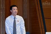 Đại biểu Triệu Thế Hùng: Phần trả lời của Bộ trưởng Đào Ngọc Dung đúng và trúng