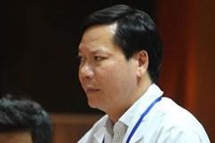 Nguyên giám đốc Bệnh viện đa khoa tỉnh Hoà Bình đã về Việt Nam