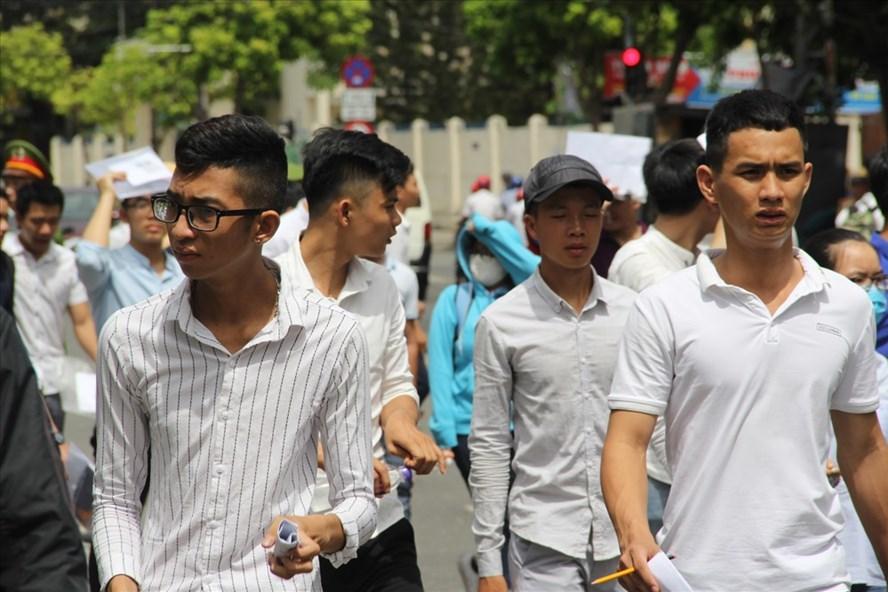 Hội đồng thi Đà Nẵng đã hoàn thành công tác chấm thi kỳ thi THPT Quốc gia năm 2018. Ảnh: N.T